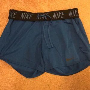 Nike Shorts - Nike blue shorts